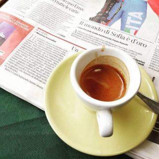 il caffè del Bar Le Rose al Policlinico di Monza