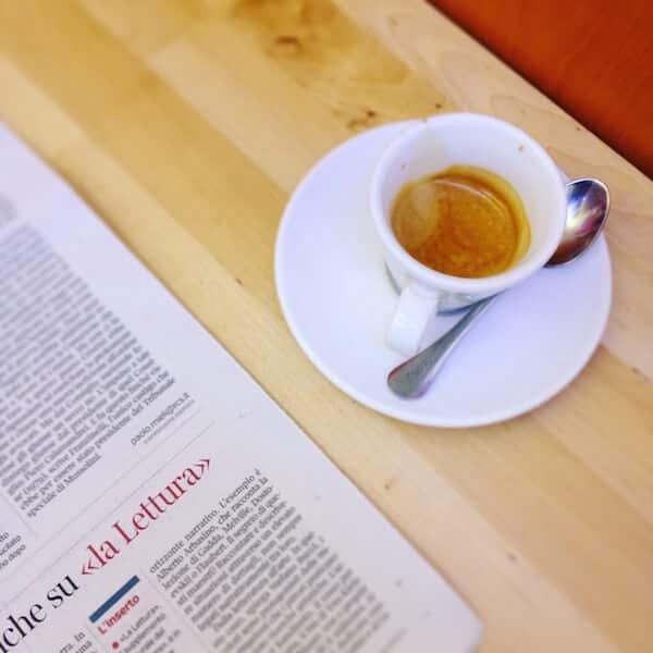 il caffè di Blue Eyes a Milano