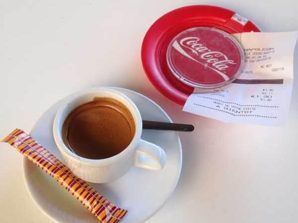 caffè Napoleon a Bastia