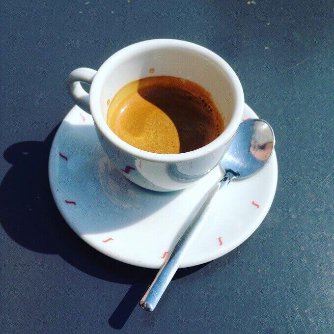 il caffè del bar Caffè Cermenati a Lecco