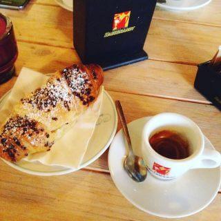 il caffè espresso del Caffè Cervetti a Marina di Pietrasanta