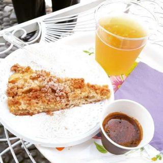 Il caffè del bar Il Convivio del Sacro Monte di Varese