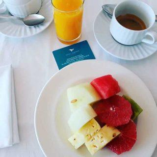 Il caffè dell'Hotel Hiberus a Saragozza