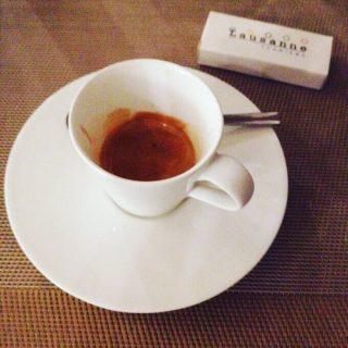 il caffè dell'Hotel Nyx Milan di Milano
