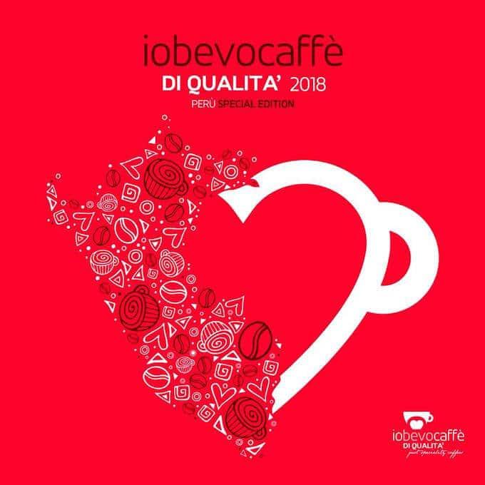 """Il logo dell'evento """"Io bevo caffè di qualità - Perù Special Edition"""""""
