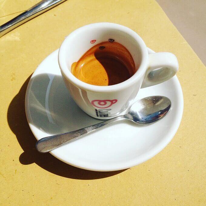 il caffè di La Cuite Bistrot a Torino