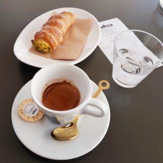 Il caffè del Flagship Store Lavazza a Milano