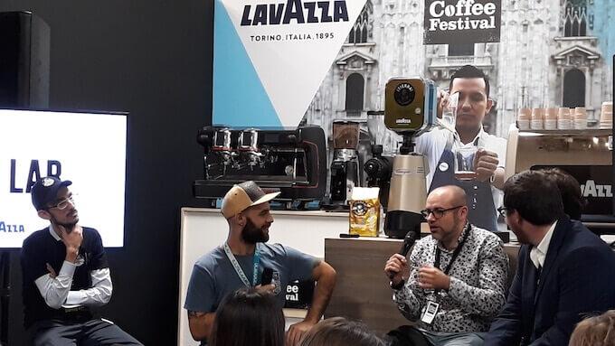 Maurizio Valli, Gianni Tratzi e Paolo Scimone al Milan Coffee Festival 2018