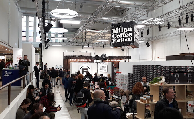 The Milan Coffee Festival 2018 allo Spazio Pelota di Milano