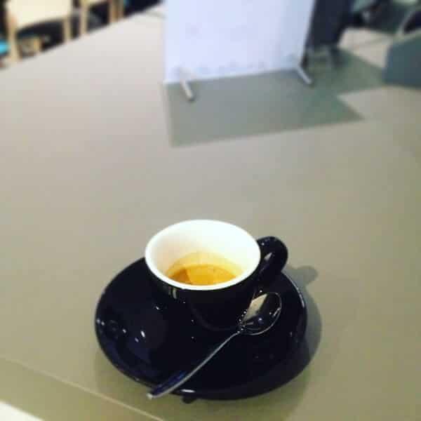 il caffè del Moleskine Café di Milano (blend)