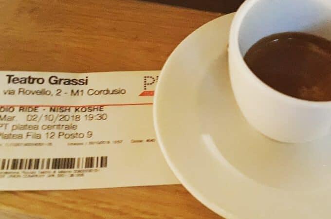 Il caffè del Piccolo Café & Restaurant a Milano