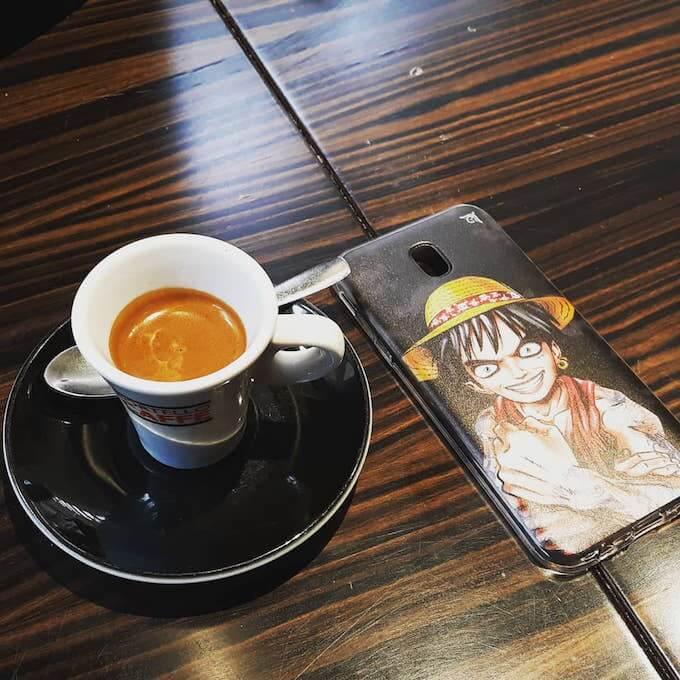 Il caffè espresso del Portello Caffè nel centro commerciale Il Globo a Busnago