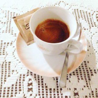 il caffè del ristorante Sementis a Pietrasanta