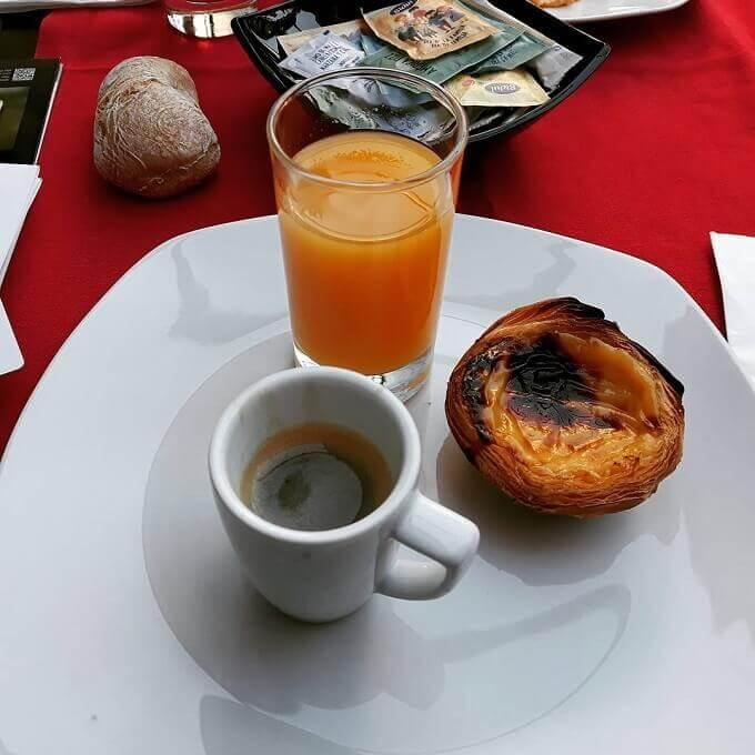il caffè e la colazione del Rossio Garden Hotel a Lisbona