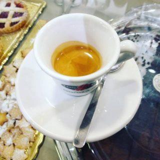 il caffè del bar San Carlo Café a Monza