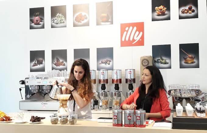 Lo stand Illy al Milano Coffee Festival