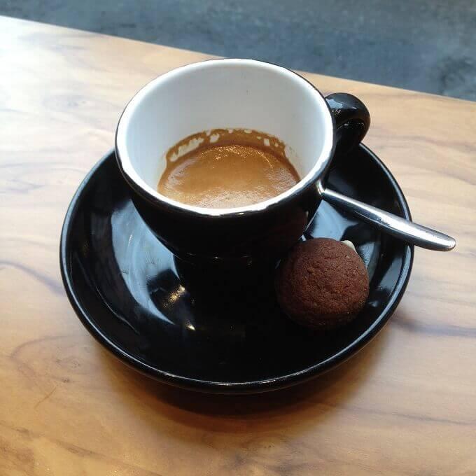 il caffè della Toasteria Italiana a Milano