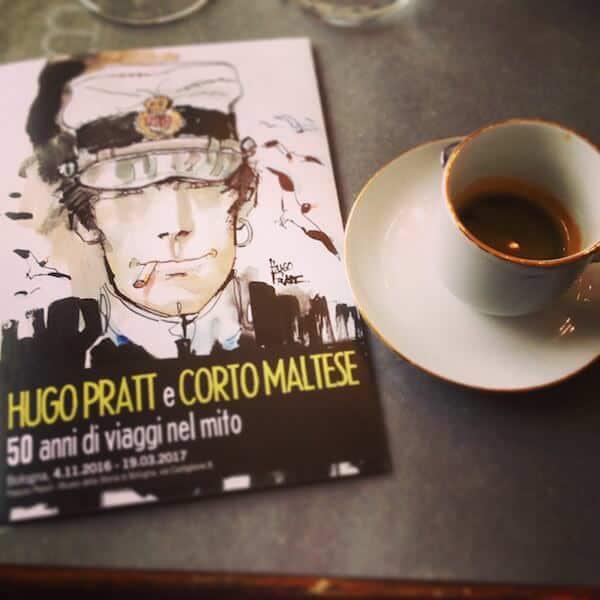 Il caffè del ristorante Via Con Me di Bologna