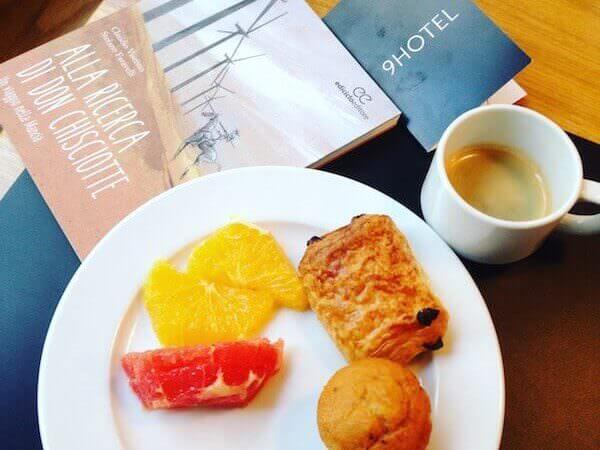 Il caffè della colazione del 9 Hotel Central a Bruxelles