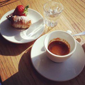 Il caffè di Bottega Emilia a Milano