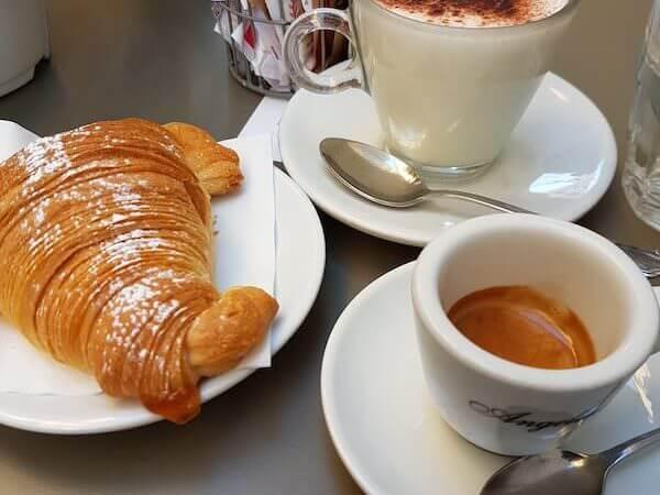 caffè bevuto da Angelinas Café a Roma