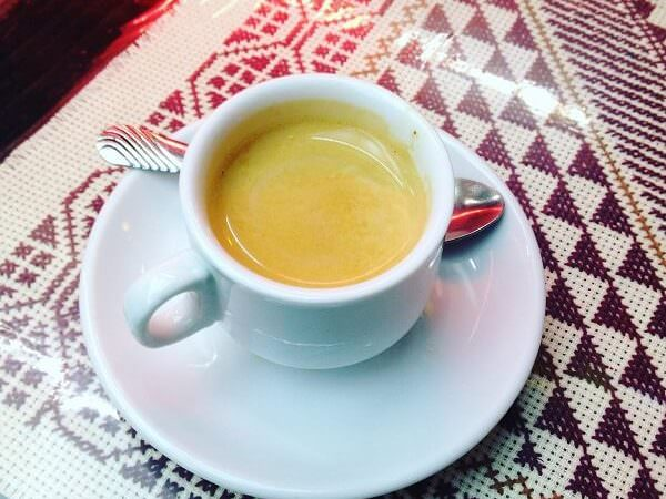 il caffè di Al Mufti Espresso Cafe a Gerusalemme