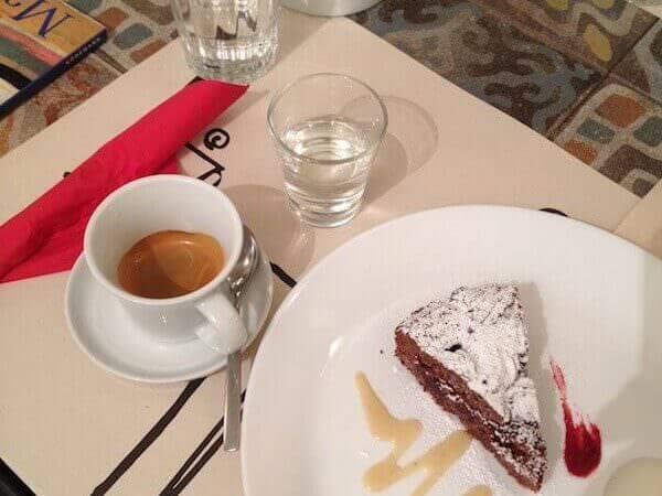 caffè bevuto a L'Art Caffè di Bergamo