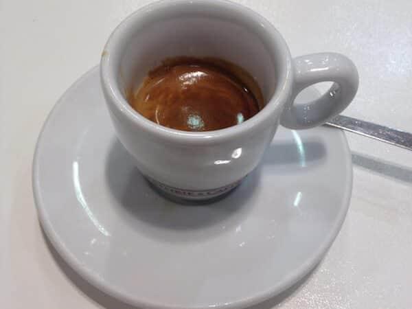 caffè bevuto all'Autogrill Rubicone Ovest