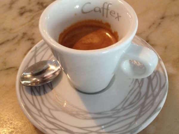 caffè bevuto al Bar Centrale di San Giuliano Milanese