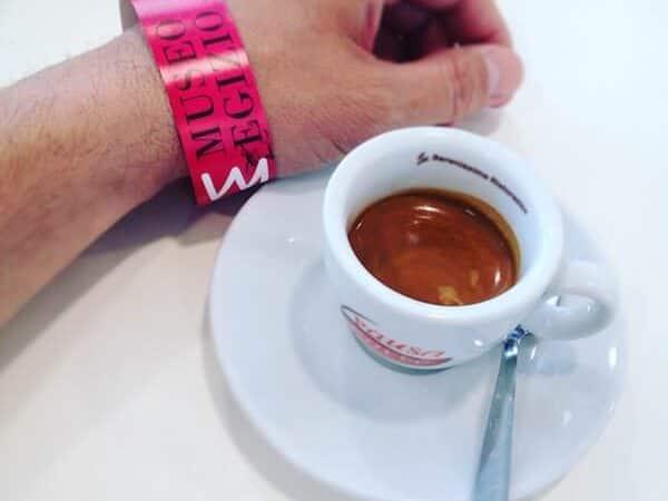 il caffè del bar del Museo Egizio di Torino