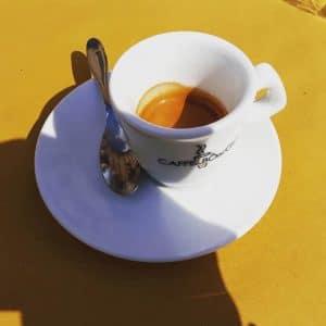 Il caffè del Bar San Paolo a Monza