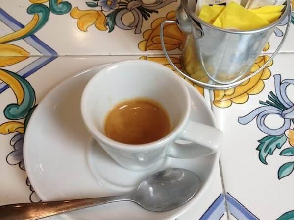 Il caffè de La Bottega di Londra