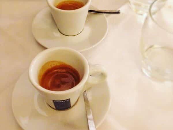 il caffè di Bottega Mia Ristorante a Torino