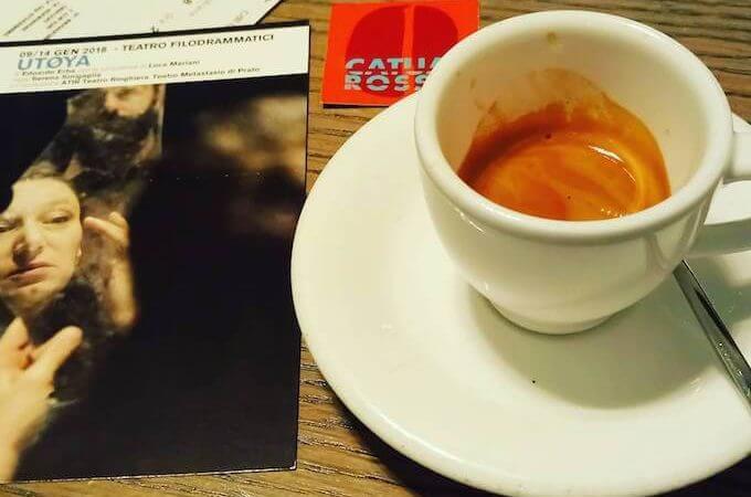 il caffè del bar ristorante Café Trussardi Lounge a Milano