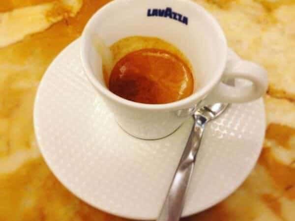 il caffè del Caffè Fiorio a Torino