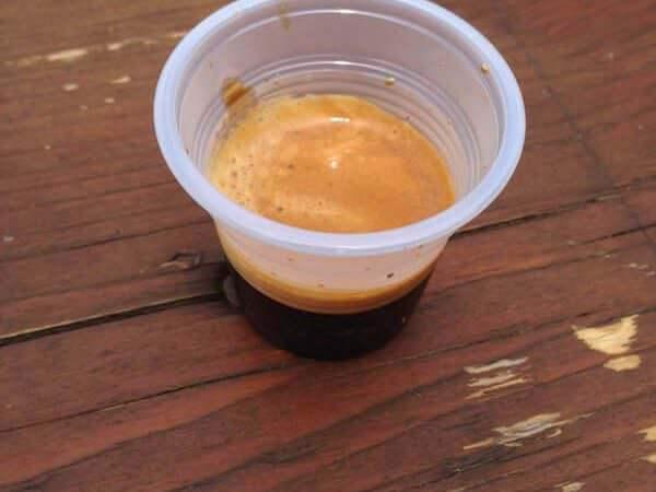 Il caffè bevuto al campo sportivo di Solbiate Olona