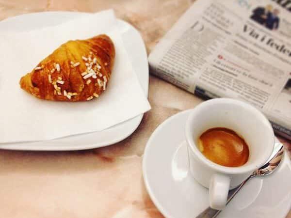 il caffè di Carini Bistrot a Treviglio