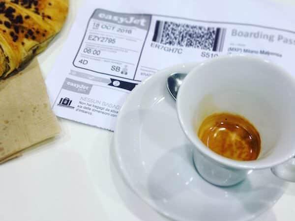 il caffè dello Chef Express a Malpensa