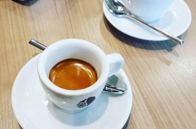 il caffè del bar Chicco do Mexico a Milano