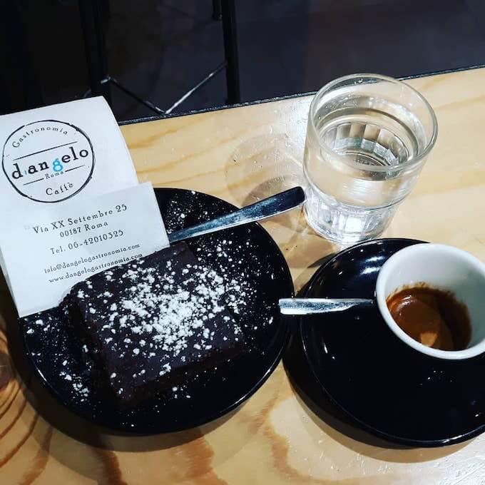 Il caffè di D'Angelo Bistrot a Roma