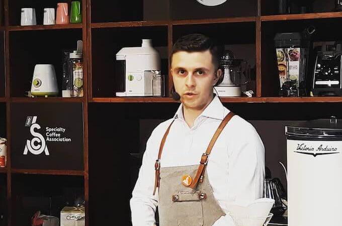 Davide Cavaglieri al Milano Coffee Festival