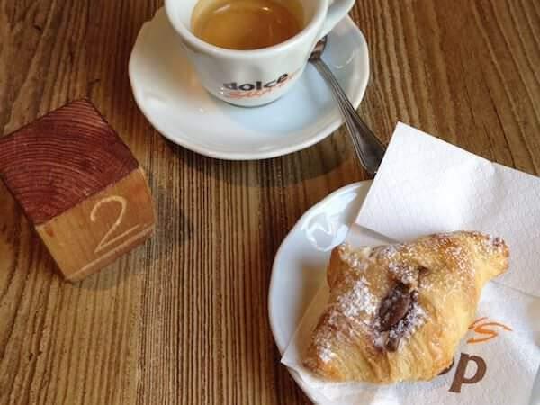 il caffè di Dolcesalato a Brugherio