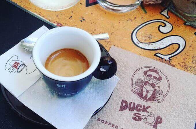 il caffè di Duck Soup ad Atene