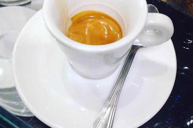 il caffè di Eatme & Go a Milano