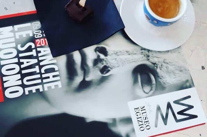 Il caffè della Fondazione Sandretto Re Rebaudengo a Torino