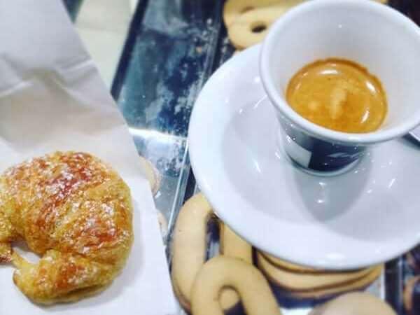 il caffè de La Forneria a Milano