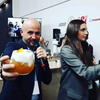 Francesco Sanapo al Milan Coffee Festival 2018