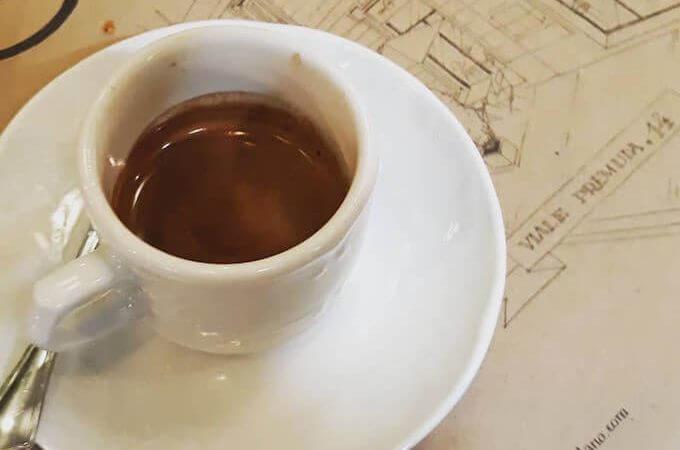 Il caffè espresso di L'Ov Milano