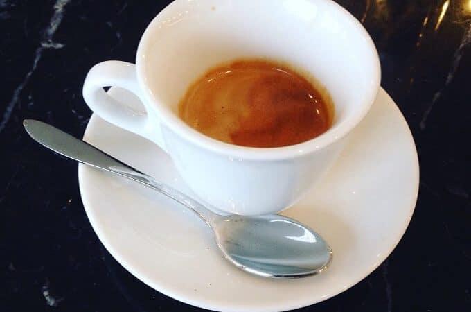 il caffè di M89 Hotel a Milano