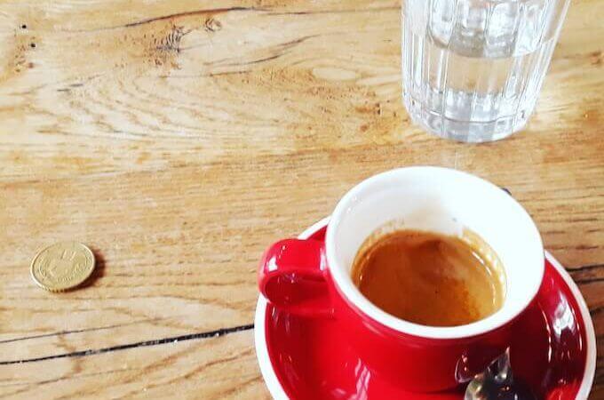 Il caffè espresso di Matamata Coffee a Parigi